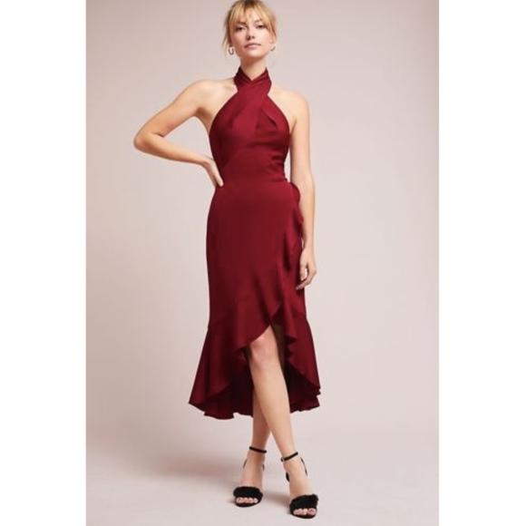 9d00034afb9 NWT ANTHROPOLOGIE SHOSHANNA IVOLIN HIGH-LOW DRESS